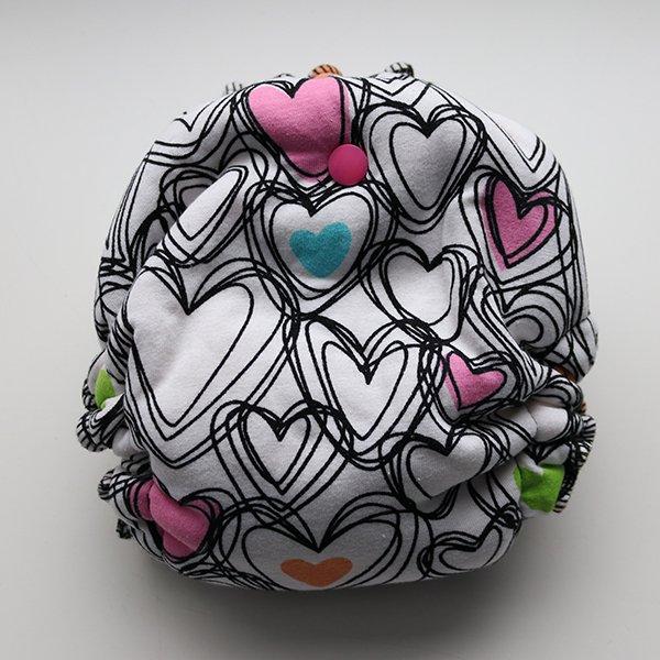 Cross my heart - [Serged, Knit] Newborn - Fuchsia Velour