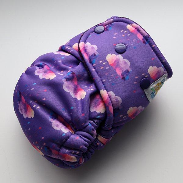 Midnight Rain - [Swim Knit] Size 1 - Purple Velour