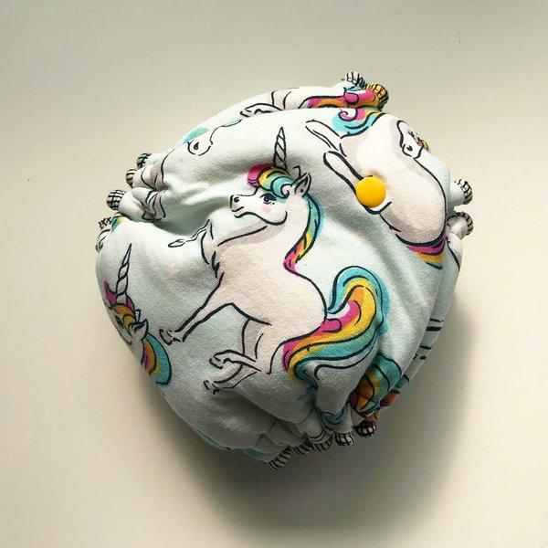 Unicorn Dreams - [Knit] Newborn - Fuchsia Velour