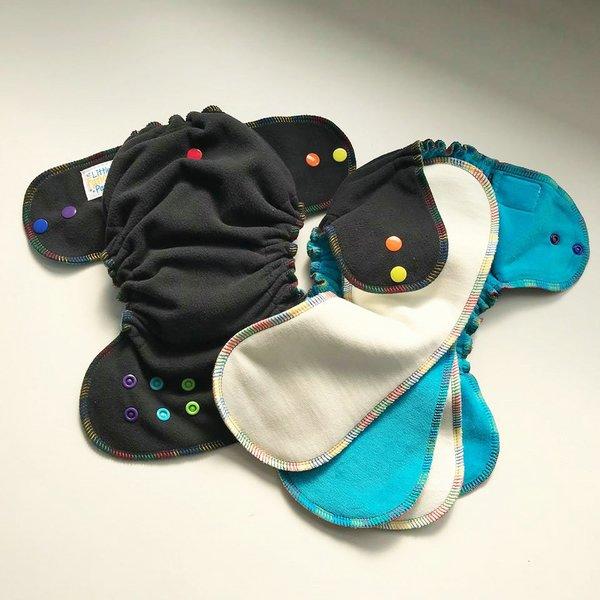 Rainbow Dreams - [Windpro, Sleepy] Newborn - Aqua Velour