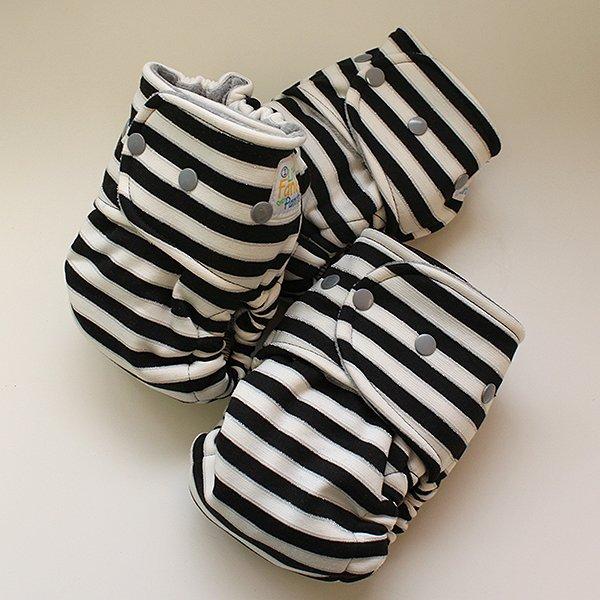 Black Ice [Knit] - Size 1 - Heather Gray Velour