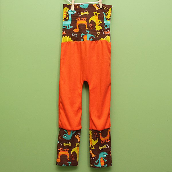 "Love Bums ""Fancy Pants""  - Dino Dudes (Size 1) no bum circle"