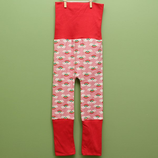 "Love Bums ""Fancy Pants""  - 1981 with Coral Bands (Size 1) no bum circle"