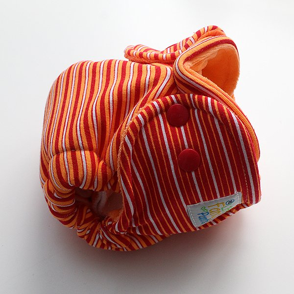 Radioactive - [Knit] Newborn - Orange Velour