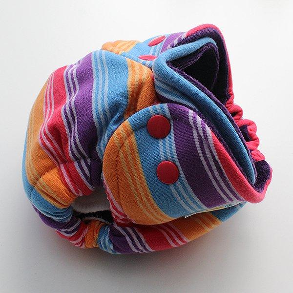 Rainbow Blast - [Knit] Newborn - Grape Velour