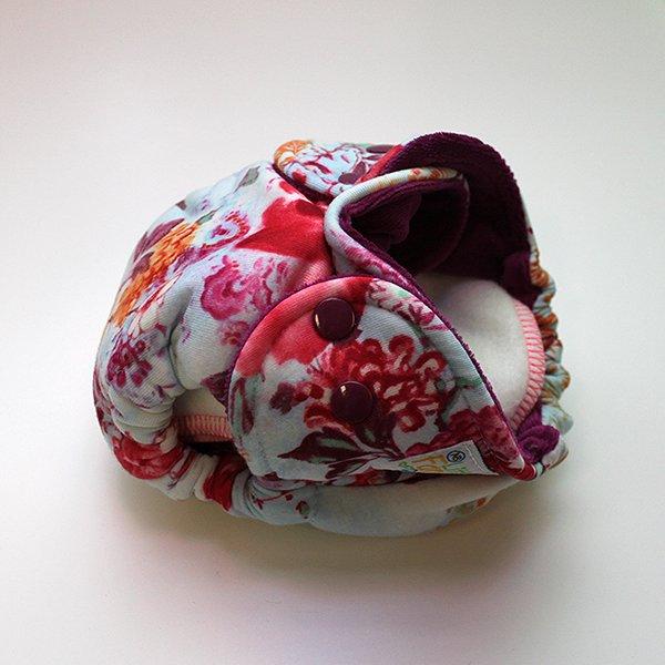 Tangier [Knit] - Newborn - Raspberry Velour