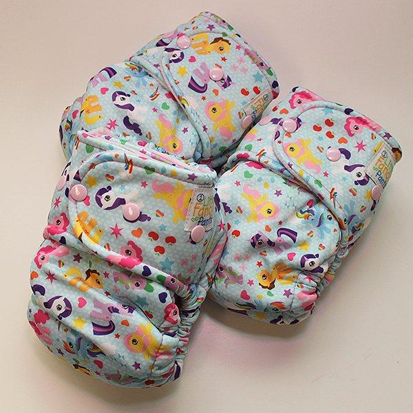 Pony Prance [Swimsuit Knit] - Size 1 - Light Pink Velour