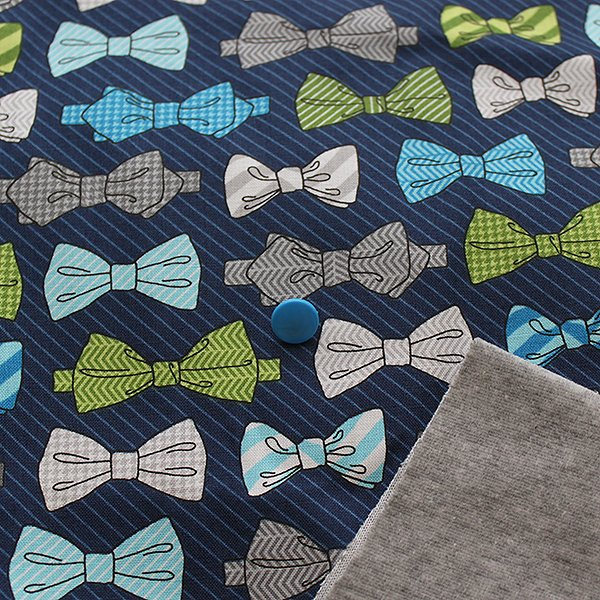Bow Tie - Pre-Order - [Woven] Heather Gray Velour