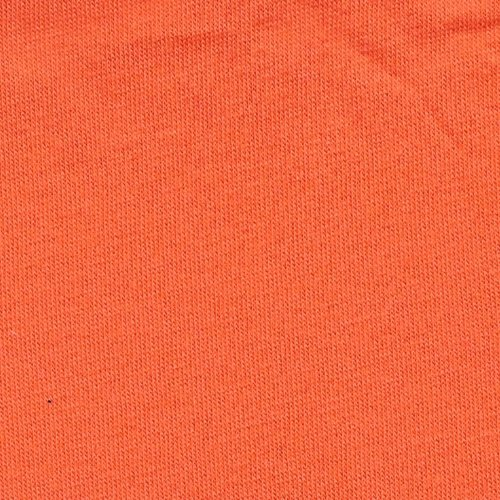 Solid Orange - Cotton Lycra 8oz  [by the yard]