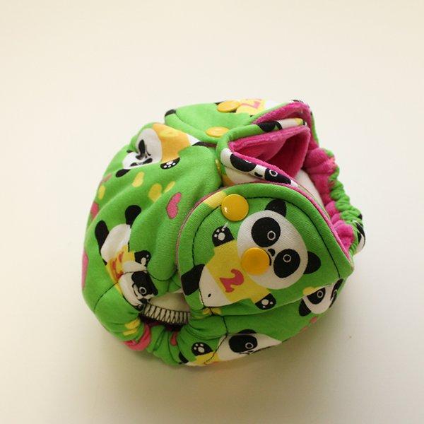 Panda Powers - [Knit] Newborn - Fuchsia Velour