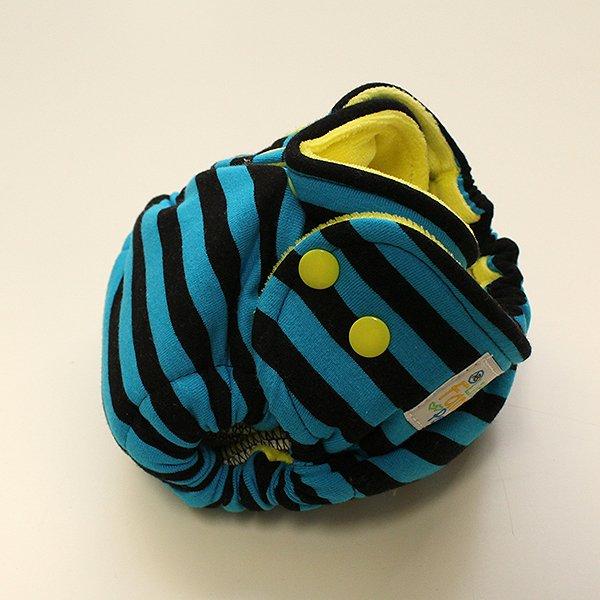 Classic Stripe - [Knit] Newborn - Yellow Velour