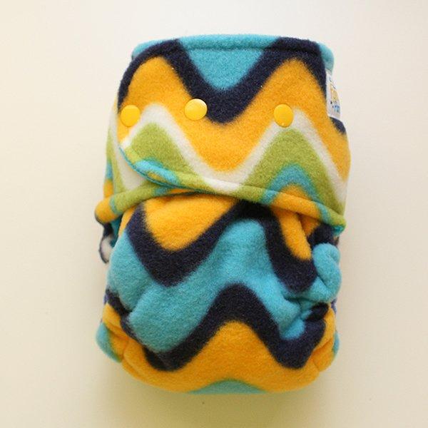 Waves - [Fleece Sleepy] Size 3 - Dark Aqua Velour