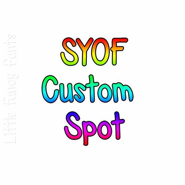 SYOF Custom Slot - T&T Any Size, Regular Hybrid