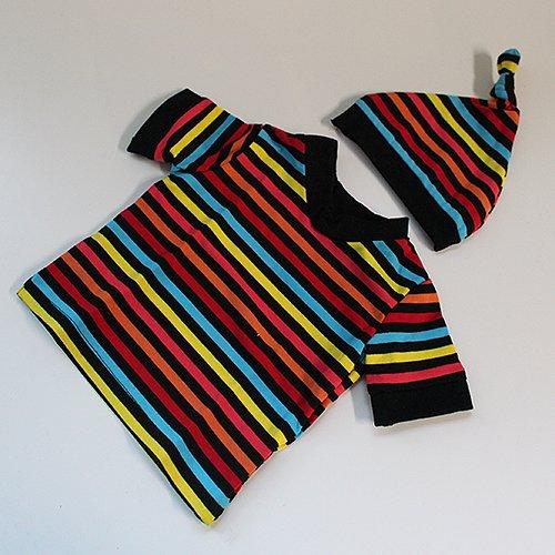 High Voltage - Newborn Shirt & Hat Set