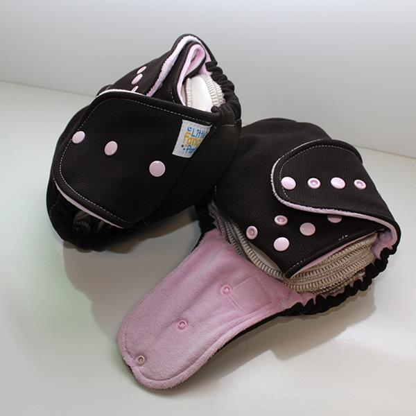 Strawberry Mocha Hardface Windpro Sleepy - Size 1 - Light Pink Velour Inside