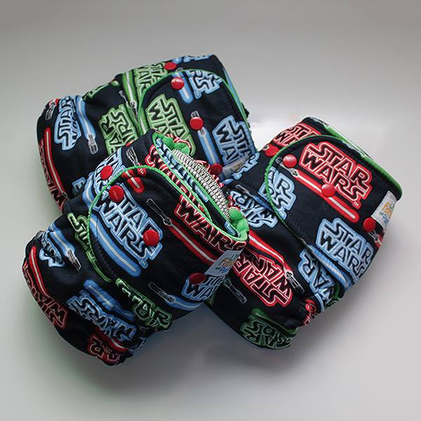 Lightsaber [Woven] Size 2 - Kelly Green Velour Inside