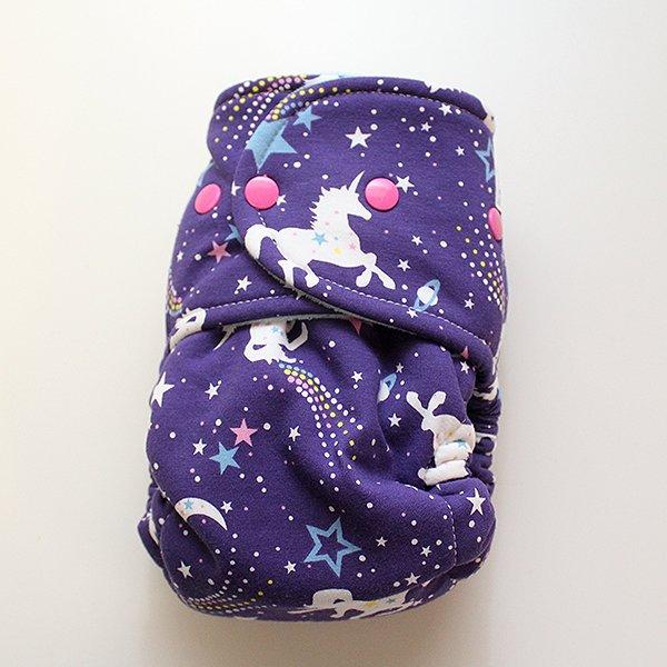 Purple Unicorn Cosmo [Knit] Size 2 - Aqua Velour
