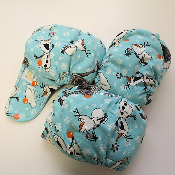 Olaf [Knit] Size 2 - Aqua Velour