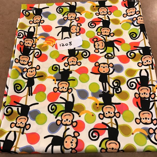 1208 - Monkey Swim Knit - 1 Yard