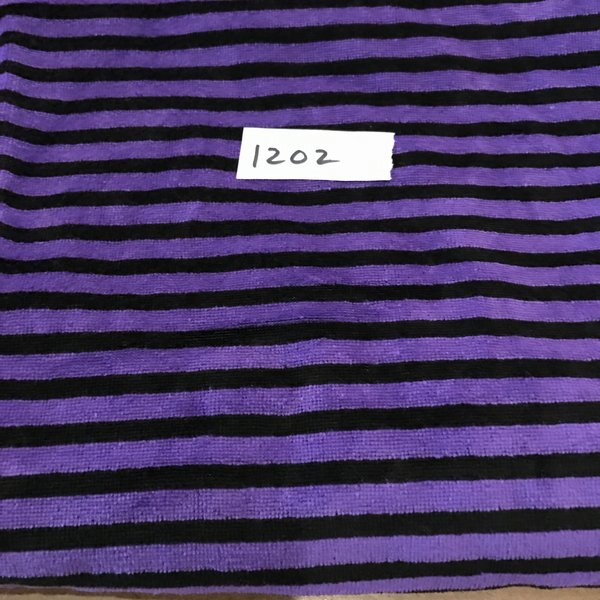 "1202 - Striped Velour - 31""x37"""