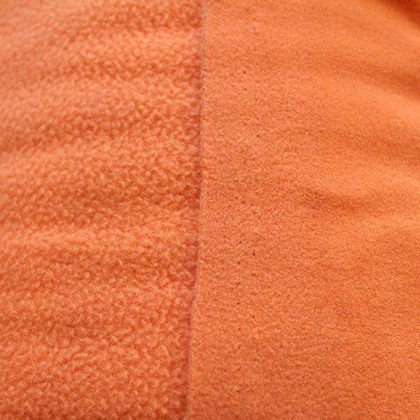 Orange Polartec Fleece [by the yard]