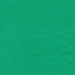 Solid Kelly Green Cotton Lycra - Knit [by the yard]
