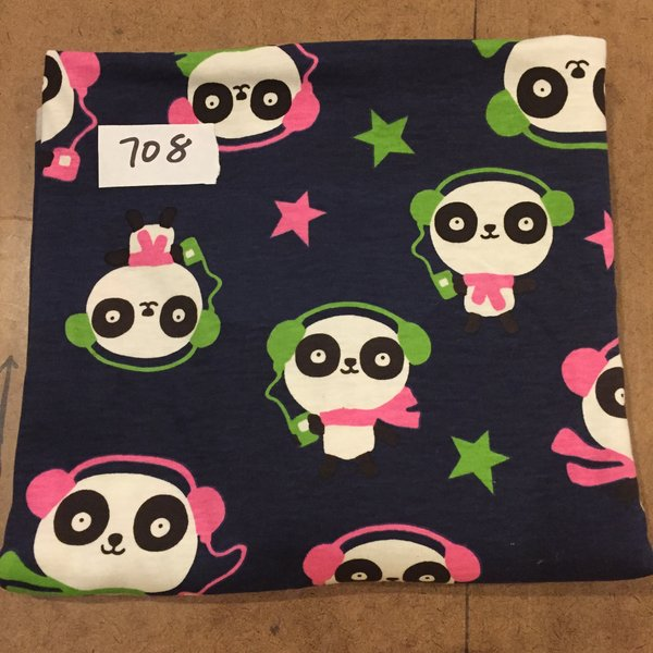 708 Pandas Jersey Knit 1 yard [Jersey Knit]