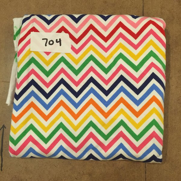"704 Chevron 20""XWOF [Cotton Lycra Knit]"