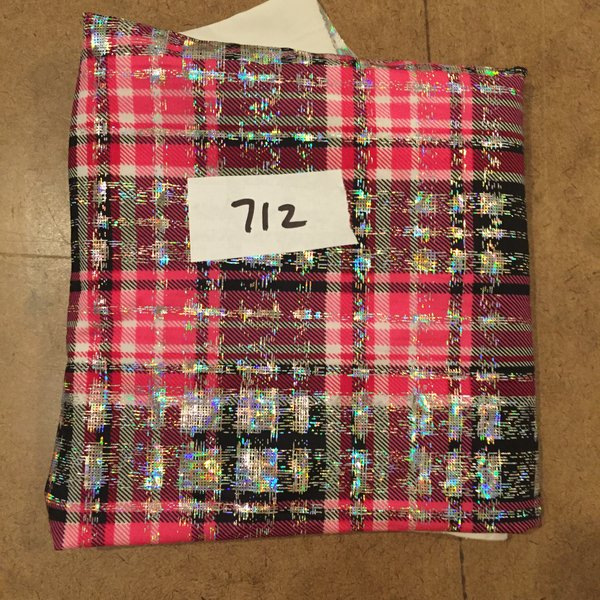 "712 Preppy Plaid 25""x16"" [Swimsuit Knit]"