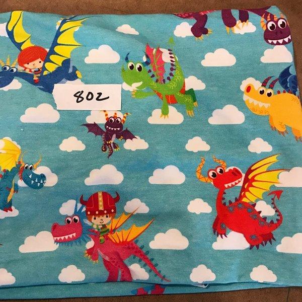 """#802 Dreams - 27""""x27""""  - Cotton Lycra Knit"""