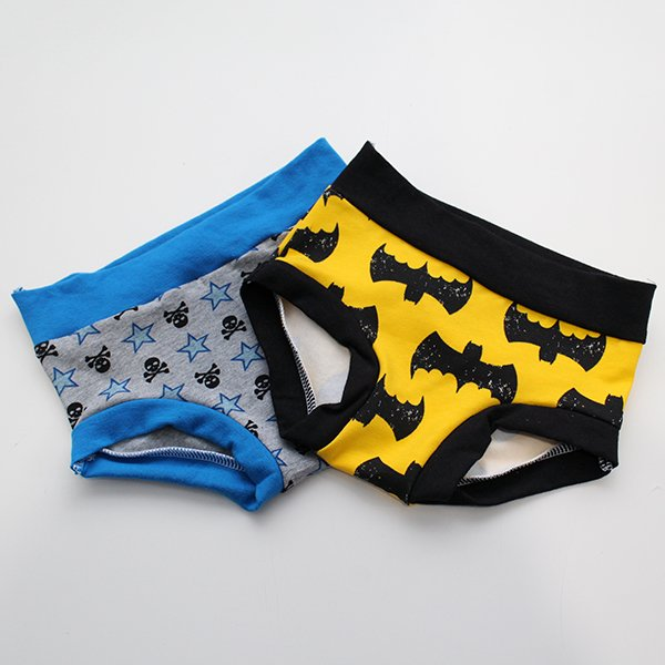 [2t-3t] Undies - Skulls / Batman Set of 2