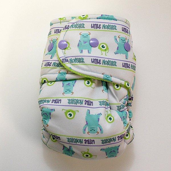 Little Monster [Swimsuit Knit] Size 2 - Aqua Velour