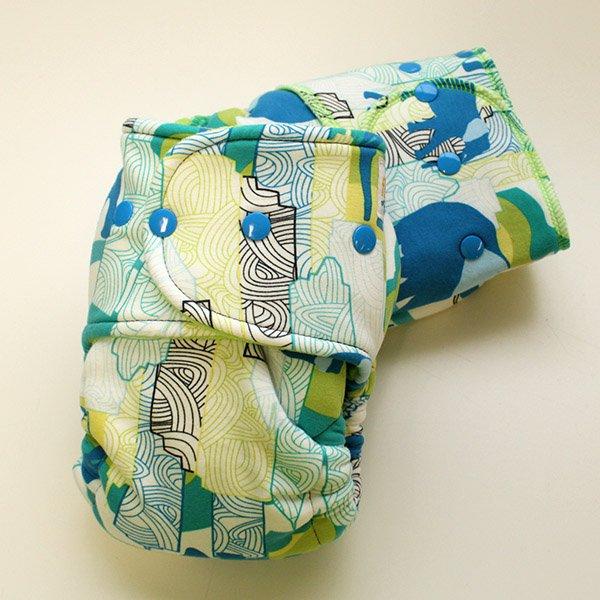 Elephant Safari - Size 1.5 Serged - [Knit] Lime Velour