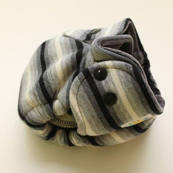 Elliptical - Newborn - [Knit] Charcoal Velour