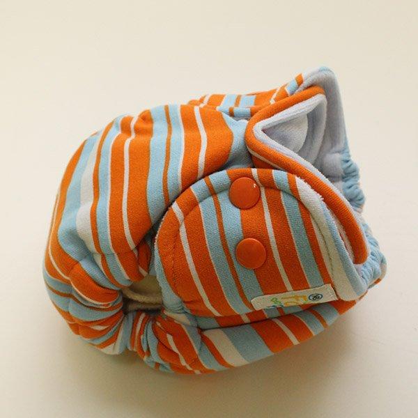 Sunset Sea - Newborn - [Knit] Baby Blue Velour