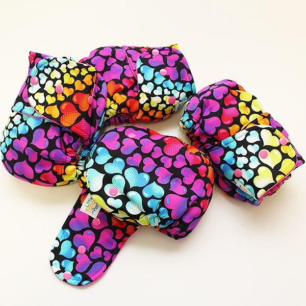 Bubble Love [Swimsuit Knit]  - Size 2 - Fuchsia Velour