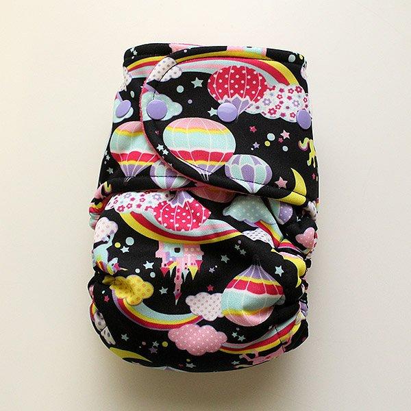 Black Unicornic - Size 2 - [Swimsuit Knit] Hot Pink Velour