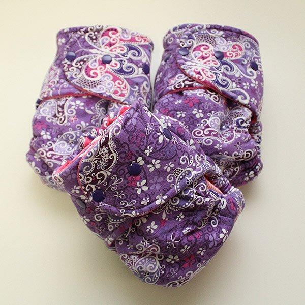Lila - Size 2 - [Knit] Hot Pink Velour
