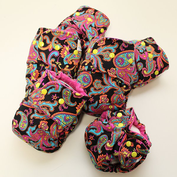 Perfect Paisley Group Diapers