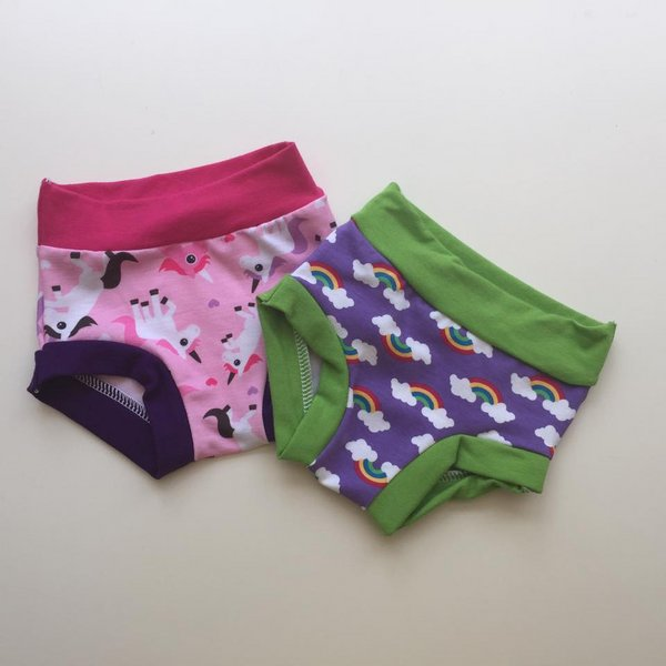 [12mos] Undies Set of 2  - Ponies & Midnight in Oz