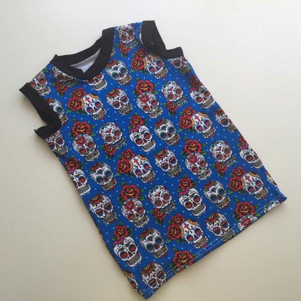 [2T-3T] Tank Shirt - Skulls