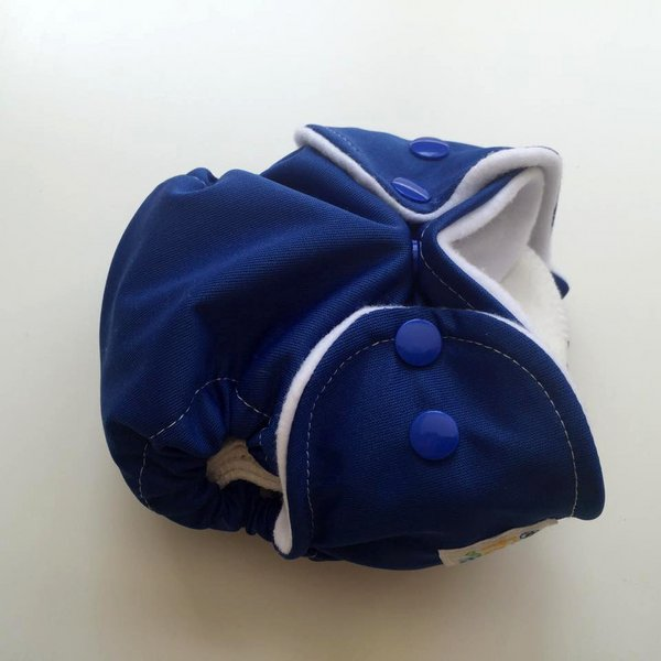 Solid Royal Blue - [PUL AIO] Newborn - *Seconds*