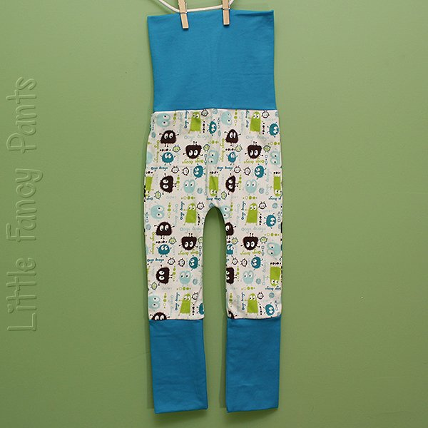 "Love Bums ""Fancy Pants""  - Limeade Oogas (Size 1) no bum circle"