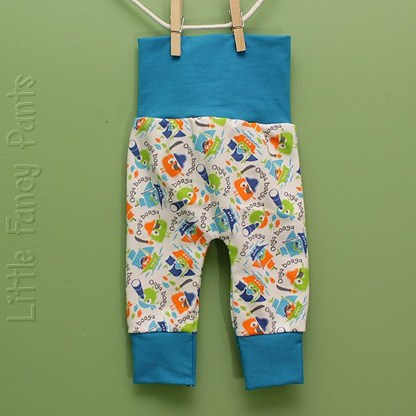 "Love Bums ""Fancy Pants""  - Pirate Oogas (Newborn) no bum circle"