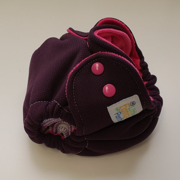 Purple & Pink Hardface Windpro Sleepy - Newborn - Pink Velour