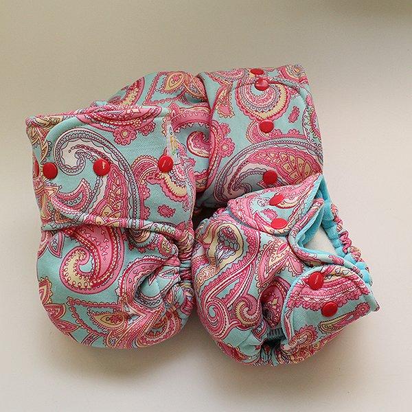 Charlotte [Knit]  - Size 1 - Hot Pink Velour