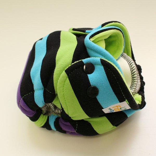 Glow Worm [Knit]  - Newborn - Lime Velour