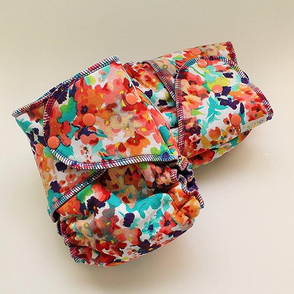 Watercolors [Knit]  - Size 1.5 - Grape Velour