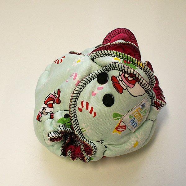 Holiday Friends - Newborn - [Knit] Fuchsia Velour