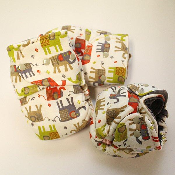 Elephant Dance - Size 2 - [Knit] Khaki Velour